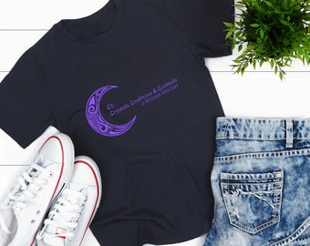 C3 Podcast Merchandise | Podcast T-Shirt | Black Witchy Podcast Tee | Exclusive Crystals Cauldrons & Cocktails Merch