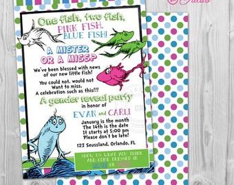 fishing gender reveal invitation fishing gender reveal party etsy