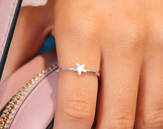 Star Ring, Sterling Silver - Karma Collection