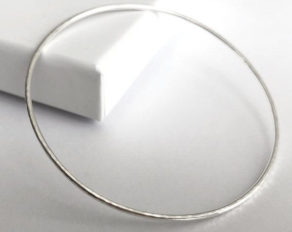 Essential Stacking Bangle, Sterling Silver - Capsule Collection