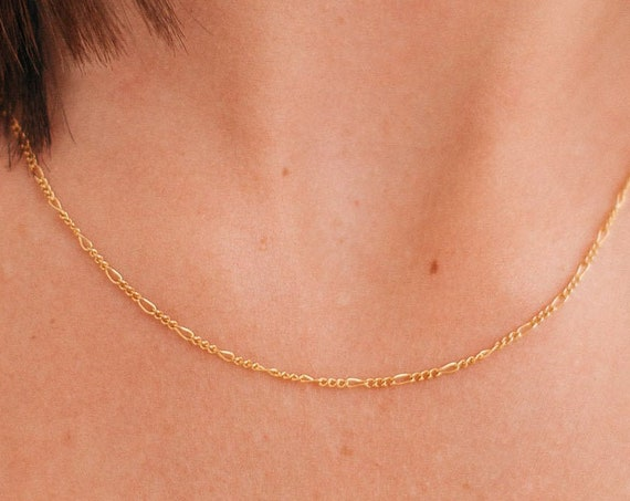 Figaro Necklace, Gold