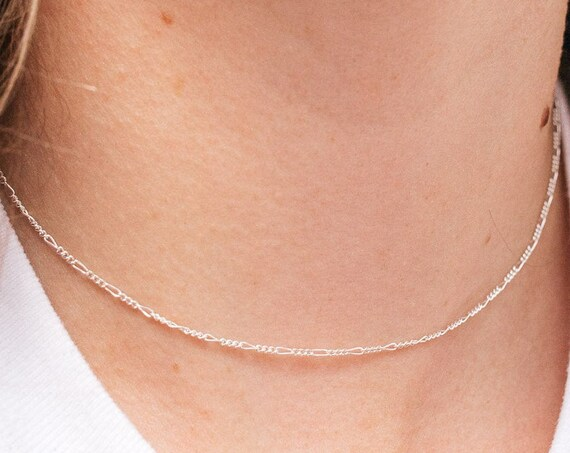 Figaro Necklace, Sterling Silver