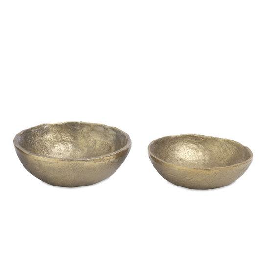 Brushed Gold Ring & Trinket Dish
