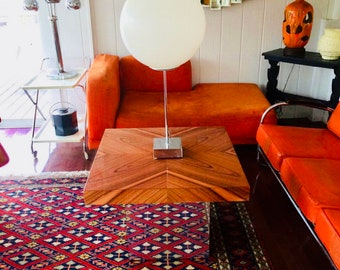 Mid Century Modern Milo Baughman Floating Coffee Table