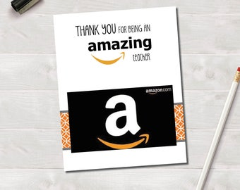 Gift Card Holder, Amazon, Gifts Under 20, Teacher Gift