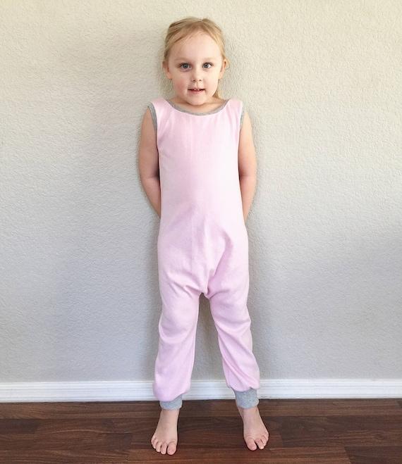 e3f2a552d Pink Knit Sweater Harem Romper Baggy Romper Preemie Romper