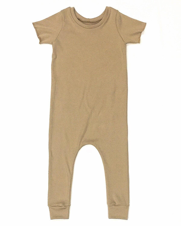 e7b7ac24d Tan or Beige Sweater Harem Romper Preemie Romper Newborn