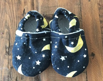 Soft Sole Baby Shoes Slippers Twilight Boy Girl Booties Crib Shoes