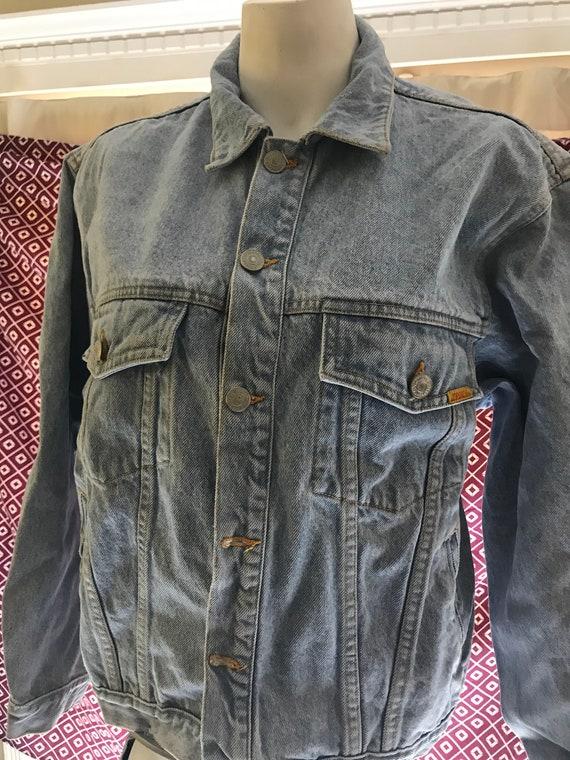 Vintage Denim Jacket - Jordache 1980's Womens Medi