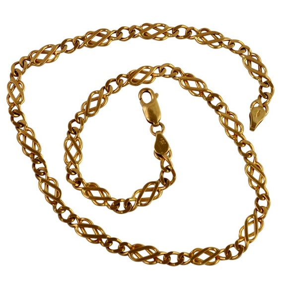 Vintage 9ct Gold Necklace