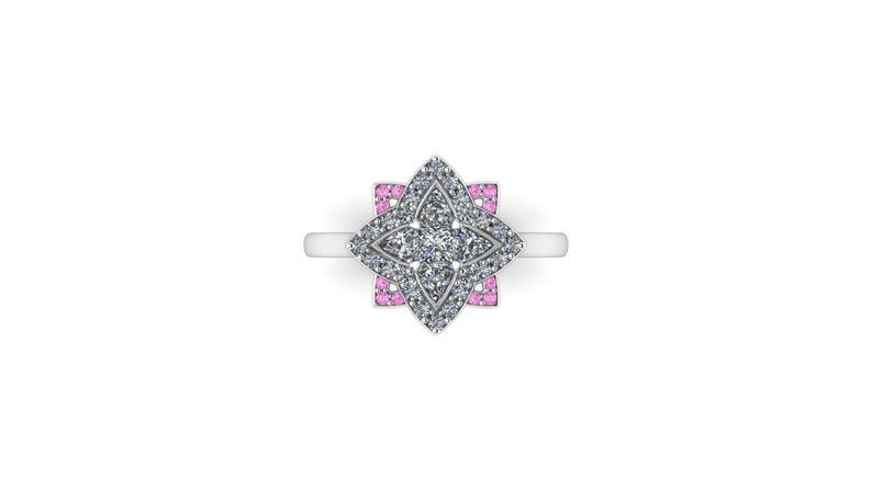 ASTRAEA'S AURA : Starry Video Game Inspired Halo Ring in image 0