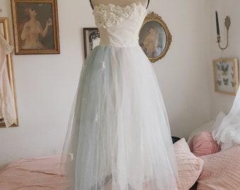 Tatiana's Midsummer 1950's ballerina ballet dress gown