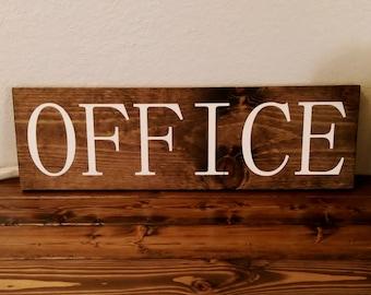 Rustic Office Decor