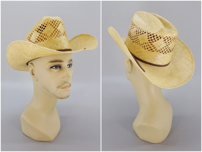 1244f735c Master Hatters of Texas 10X Straw Cowboy Hat by MHT Westerns Size Small  6-1/2 Rodeo Style Summer Hot Weather Western Wear