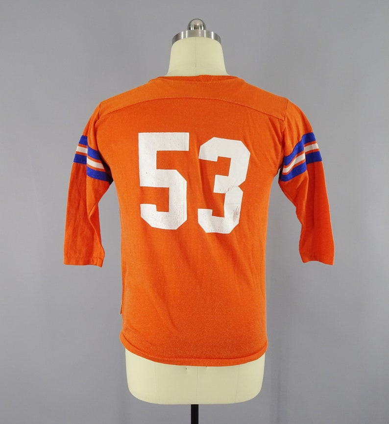 75cfaf62 1970s Vintage Denver Broncos 53 Jersey Linebacker Randy   Etsy
