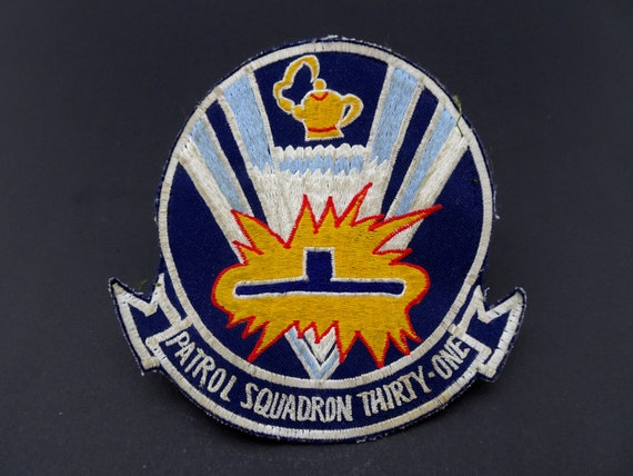 from squadron 1980/'s US Navy Squadron Patch VP-17