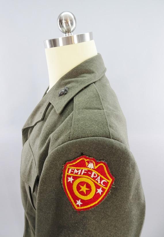 Original WW2 Vintage USMC Fleet Marine Force FMFP… - image 6