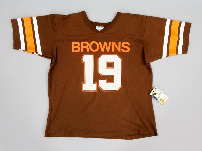 b428c7d9 Original 1980s Vintage Cleveland Browns Bernie Kosar No. 19   Etsy