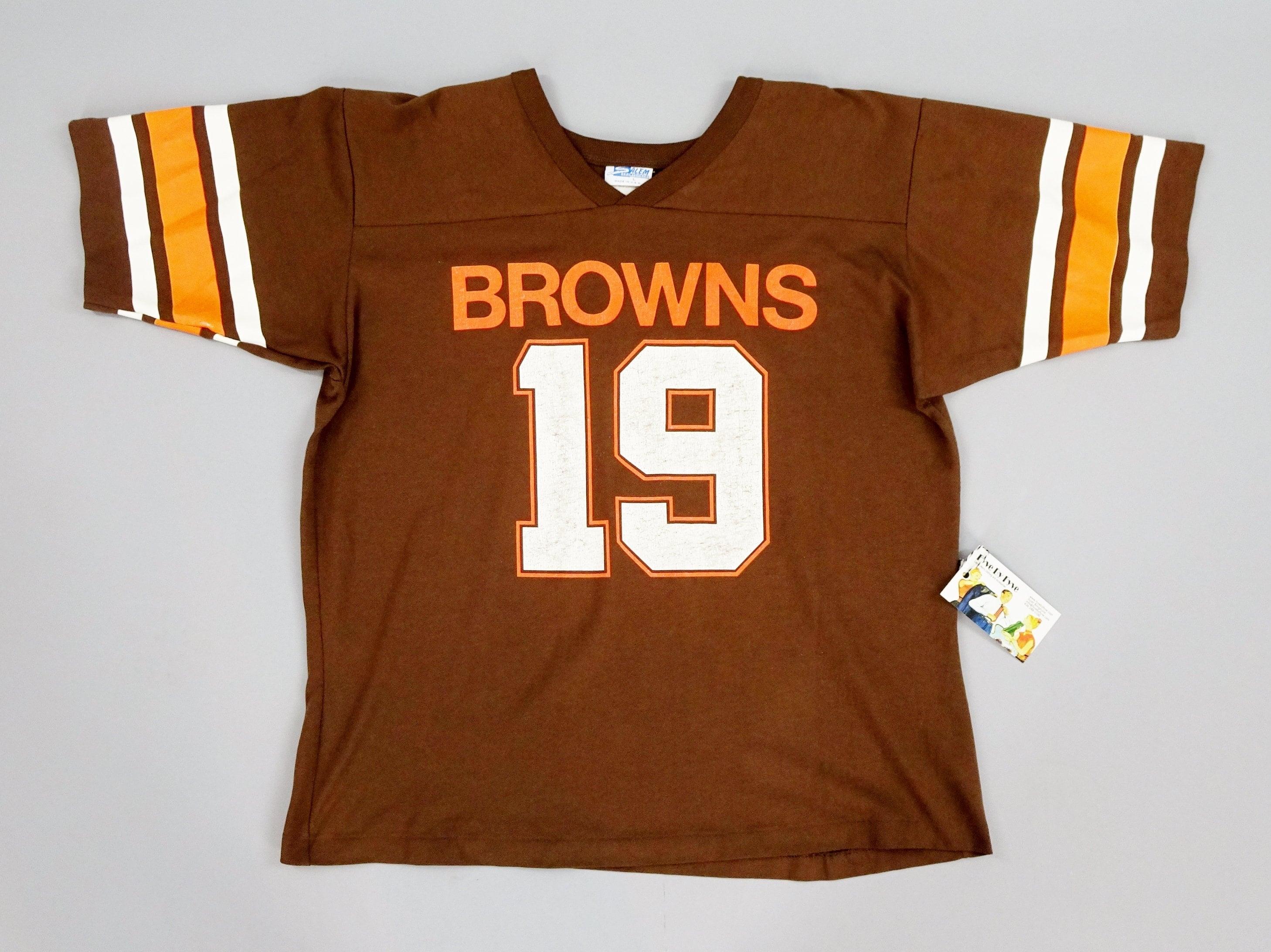 e8909572c61 Original 1980s Vintage Cleveland Browns Bernie Kosar No. 19 | Etsy