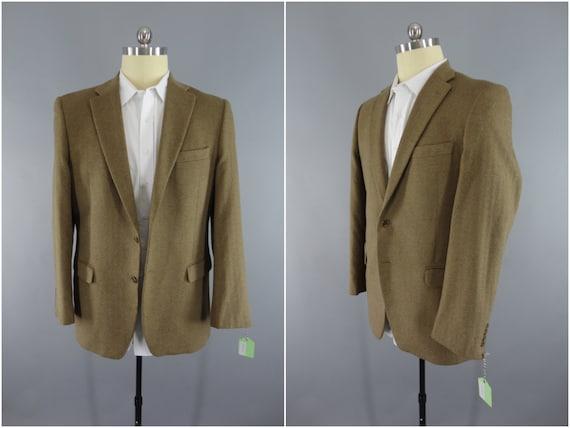 Veste Blazer Cachemire Vintage / Claiborne Sport manteau / veste en laine / hommes manteau / Long Tall
