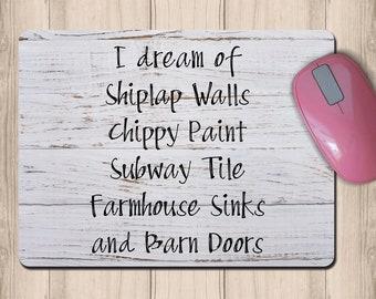 Superieur Farmhouse Office Decor Mouse Pad, Farmhouse Desk Accessories, Rustic Mouse  Pad, Rustic Office, Home Office, Home Office Decor, Rustic Chic