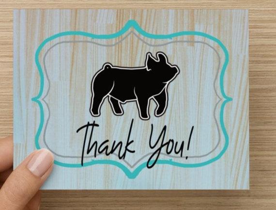 Digital File 2020.15 Show Pig Livestock Graphic