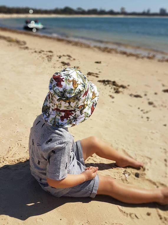 ecdf320e086 kids summer hatboys bucket hatbaby sun protectionboys beach