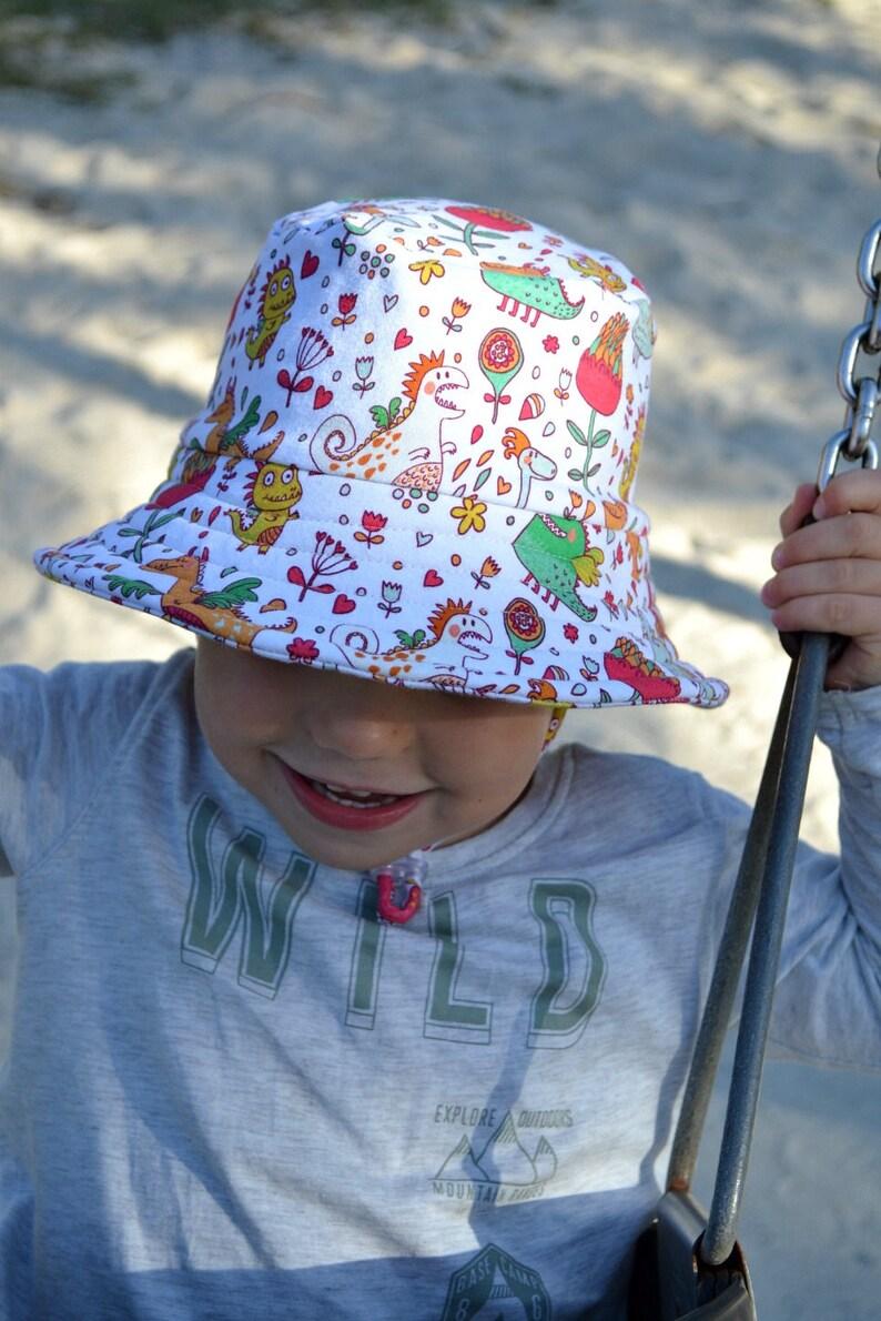 b90490343a8 Kids summer hatboys bucket hatbaby sun protectionboys beach