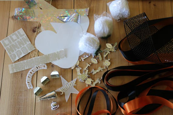Homecoming Mum Kit Triple Mum Mum Supplies Etsy
