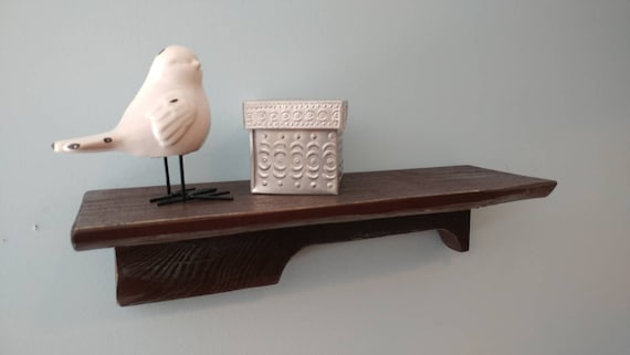 "Small shelf made from pallet wood. 15"" to 24"" Your choice in size (same price for any size)"