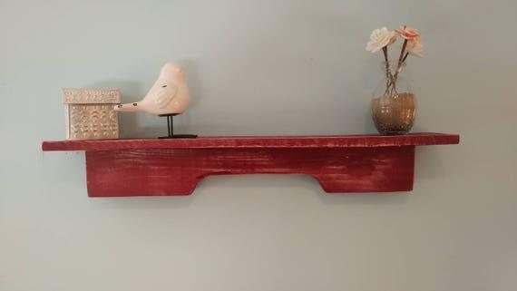 medium wall shelf made from pallet wood