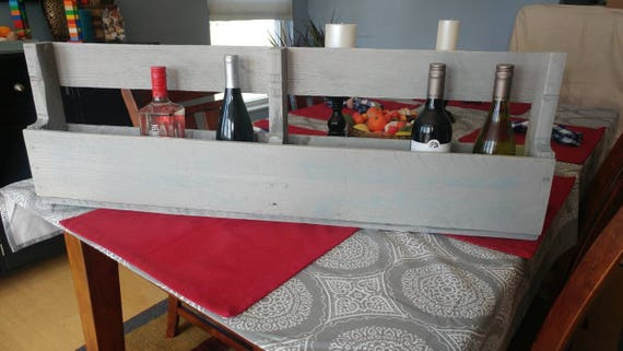 Pallet wine rack wall holder