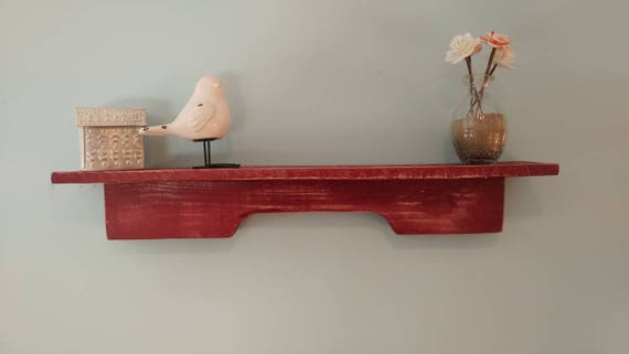 Large Wall shelf made from pallet wood