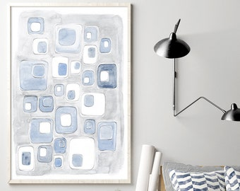 Abstract wall art, abstract painting, large wall art, large abstract art, abstract watercolor, watercolor art, modern abstract art, wall art