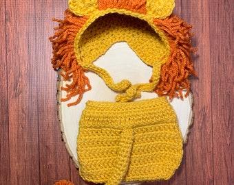 Lion newborn outfit