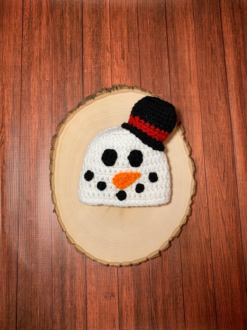 Baby snowman hat