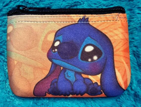 Chibi Lilo and Stitch fanart coin wallet purse wallet