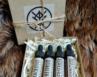 Premium Viking Beard Oil Sampler Pack | Sample Kit