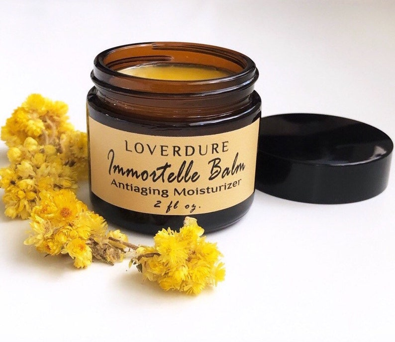 Antiaging Immortelle Balm  100% Natural Waterless image 0