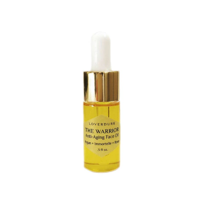 THE WARRIOR  Antiaging Face Oil Travel Size All Natural image 0