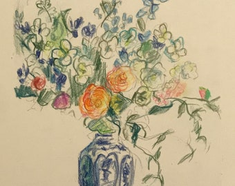 16.Blue & White Vase with Flowers 17. Blue Vase with Flowers 18. Vase with Yellow Flowers 19. Flowers  with Ivy 20. Vase with Blue Flowers