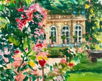 6. Chateau with Gardens 7. Lady on Red Couch 8. Chateau du Grand Luce 9. Landscape in Golden Afternoon 10. Flowers with Clouds