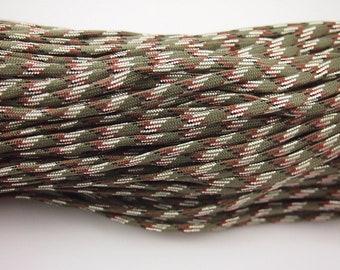 größenverstellbar/&handgefertigt Nautisches Paracord Armband in Beige Camouflage