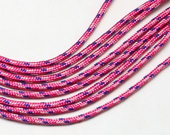 Paracord 2mmx5m pink Camouflage