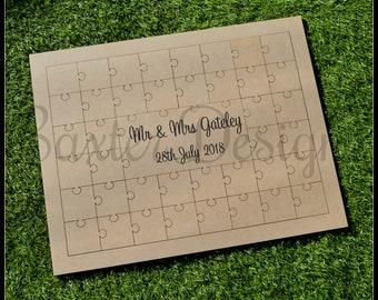 Wedding GuestBook Puzzle