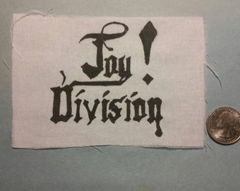 Joy Division Old Style Logo Patch