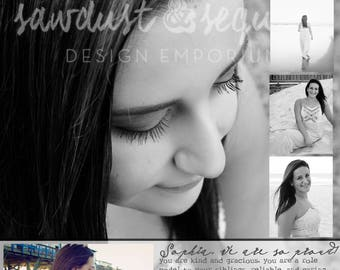yearbook page etsy