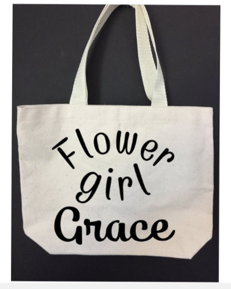 Wedding tote bag flower girl bag tote bags flower girl bags flower girl with name tote bag wedding ideas gifts for wedding