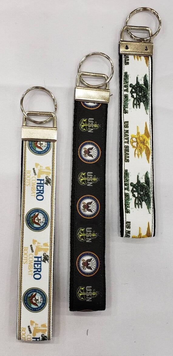 Pink Floyd Wristlet Key Fob Zipper Pull Key Chain