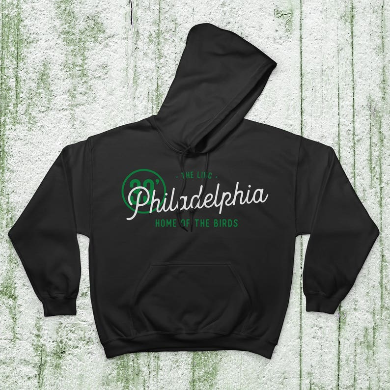 new arrival ca29f 8cca4 Philadelphia Eagles Football Fan Hoodies 50/50 Cotton-Poly Blend